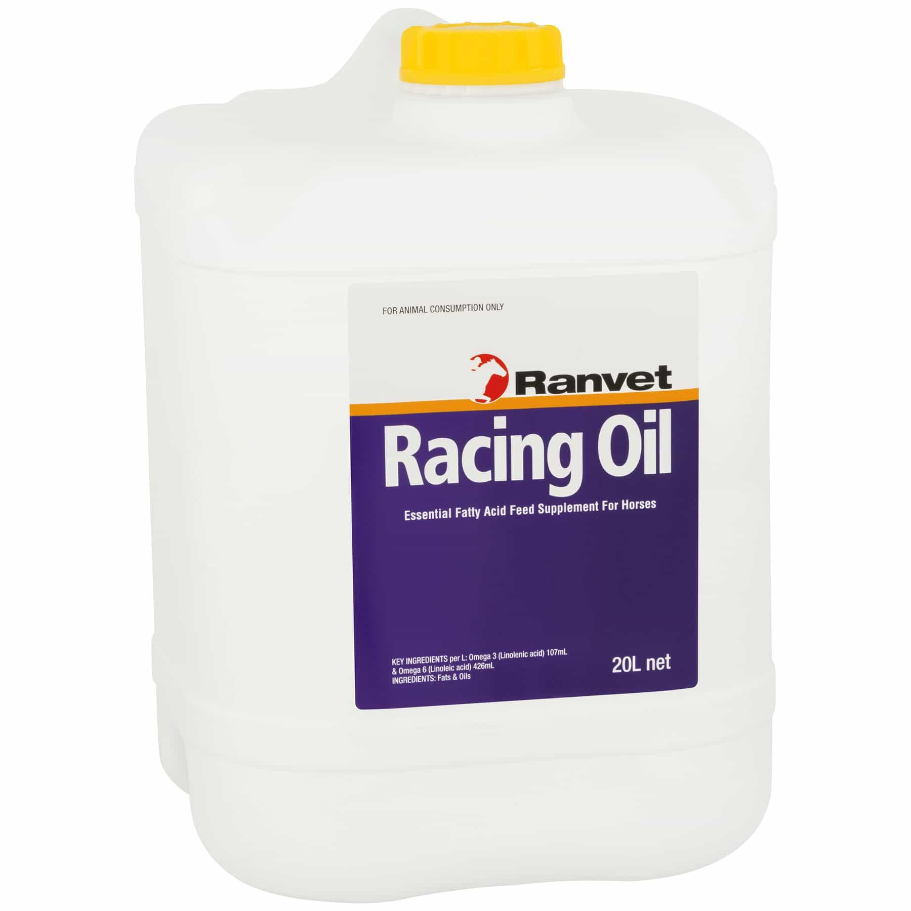 Oil for horses