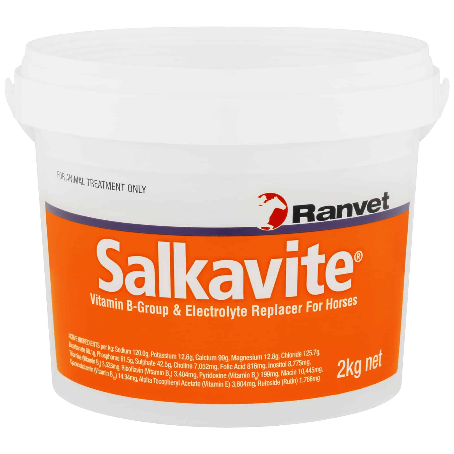 Electrolyte for horses