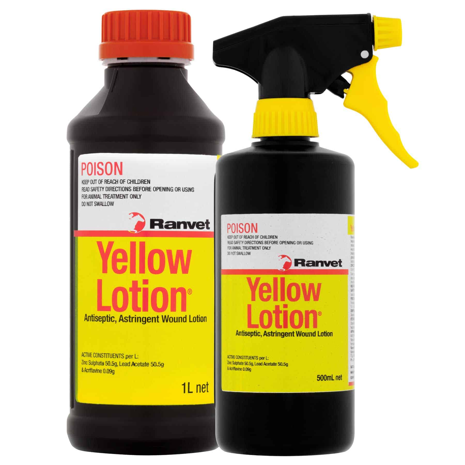Yellow Lotion® For the Treatment of Proud Flesh | Ranvet